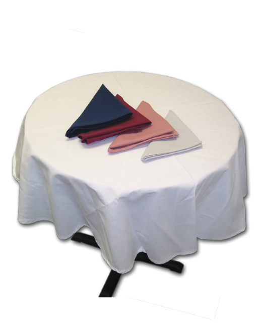 Round Tablecloth 120u2033 Diameter (1 Pc)